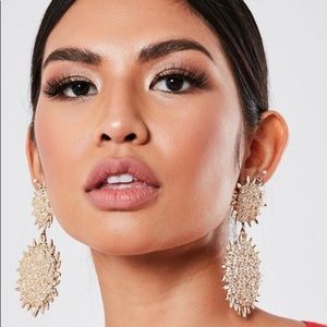 Missguided Gold Earrings ✨